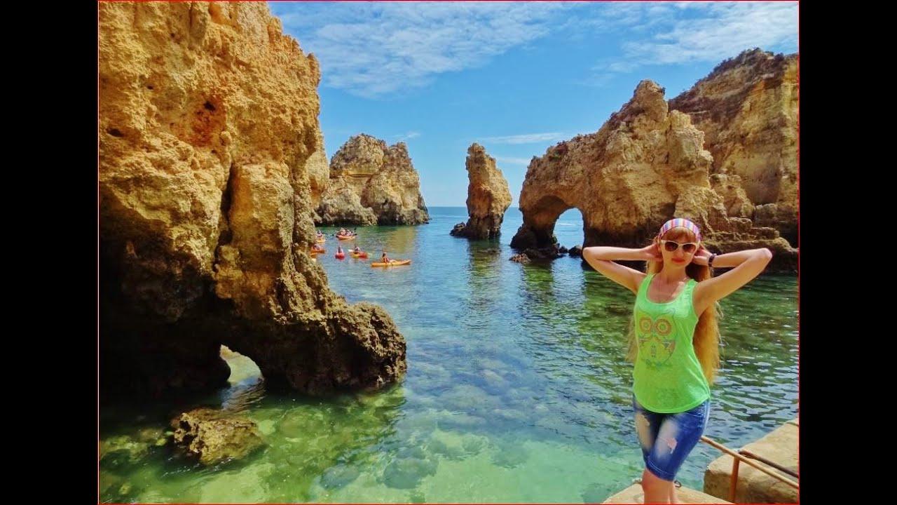 Португалия Лагуш, Фантастические Скалы и Пещеры