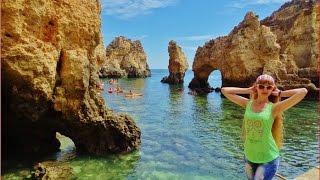 Португалия Лагуш, Фантастические Скалы и Пещеры(Португалия, самый красивый берег Европы, фантастические скалы, гроты и пещеры! Алгарве, Лагуш. Подписывайте..., 2016-07-16T07:30:00.000Z)