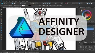 Affinity Designer -- An Awesome and Easy Vector Graphics Application