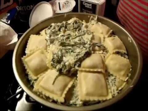 Spinach Ravioli Bake-Dominique Pilot-Dominique's Delightful Dishes Ep. 1