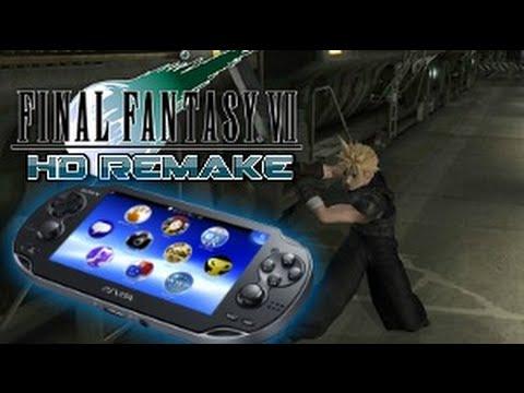 Final Fantasy VII HD Remake for PlayStation Vita - YouTube