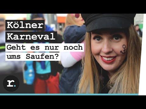 Karneval in Köln - geht's nur noch ums Saufen?