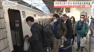 年末年始の新幹線予約が激減 コロナ拡大で過去最少(2020年12月10日) - YouTube
