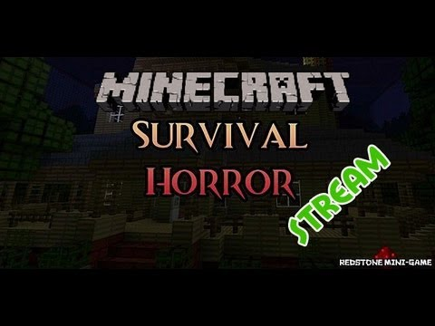 Minecraft Survival Horror (Link to video) – http://www.twitch.tv/gingecast/b/327927594