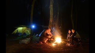 Camping di Gunung Bunder