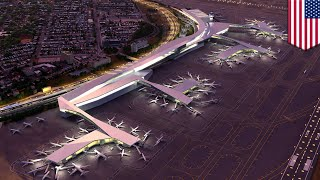 New York's LaGuardia Airport undergoes major renovation - TomoNews