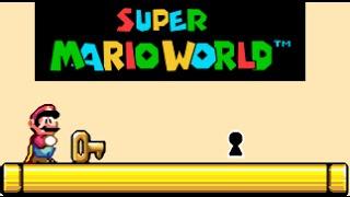 SUPER MARIO WORLD| Todas Las Llaves Ocultas