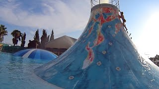 Big Volcano Water Slide at Aphrodite Waterpark thumbnail