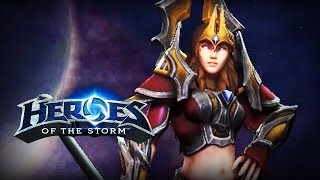♥ Heroes of the Storm (Gameplay) - Jaina Proudmoore  (HoTs Quick Match)