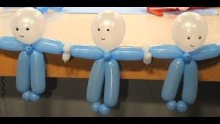 Decoración con globos para Baby Shower – Maricel Merigo