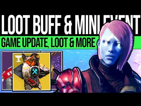 Destiny 2 | HUGE LOOT UPDATE & MINI EVENT! Patch 2.5.2.2, Inventory, New Rewards & Eververse (Sep 3)