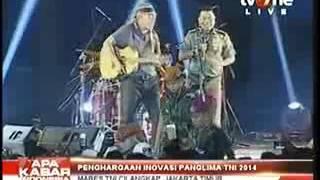 Iwan Fals Duet dengan Jendral TNI Menyanyikan Mars Tinggalkan Ayah Tinggalkan Ibu