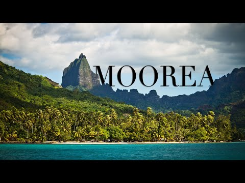MOOREA ISLAND 4K - French Polynesia