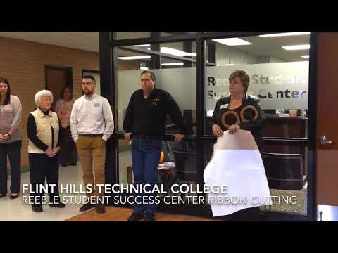 Flint Hills Technical College Reeble Student Success Center Ribbon Cutting