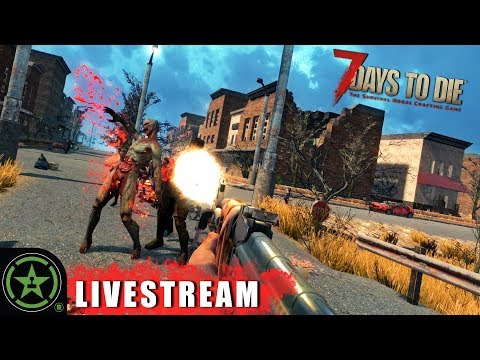 The Blood Moon Survival Plan - 7 Days To Die (Part 5) | Live Gameplay