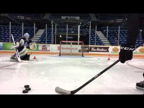 Saint John Seadogs Goaltending Practice