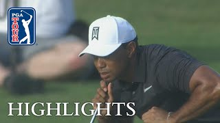 Tiger Woods extended highlights | Round 1 | Hero