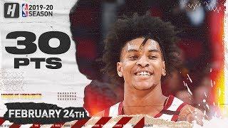 Kevin Porter Jr. 30 Pts Full Highlights   Heat vs Cavaliers   February 24, 2020