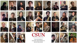 CSUN Wind Ensemble: J.S. Bach, Prelude & Fugue in G Minor, BWV 558