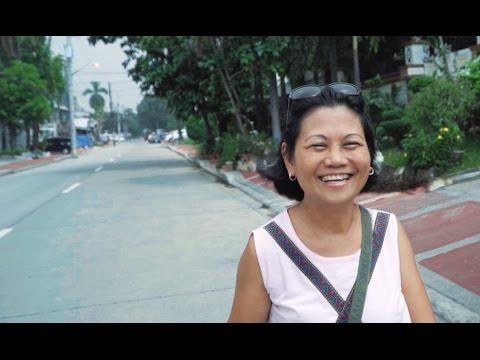 Walking Around Quezon City, Metro Manila, Philippines