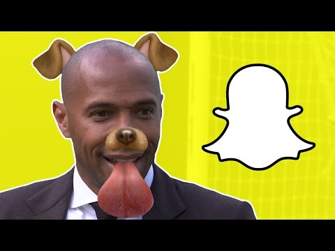 Thierry Henry | Snapchat Takeover