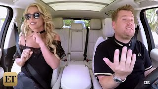 Watch Britney Spears Make 'Carpool Karaoke' Debut in New Preview!