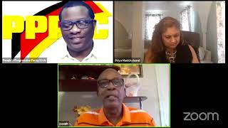Government in Transition with Priya Manickchand and Joe Hamilton July 6th 2020