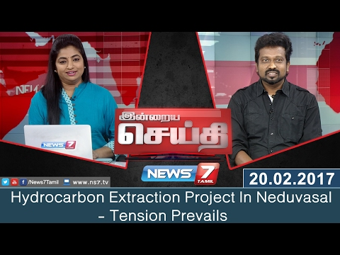 Hydrocarbon Extraction Project In Neduvasal: Tension Prevail