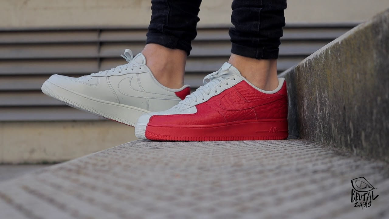 8cd495bfc REVIEW NIKE AIR FORCE 1 07 PRM - 905345 005 - YouTube