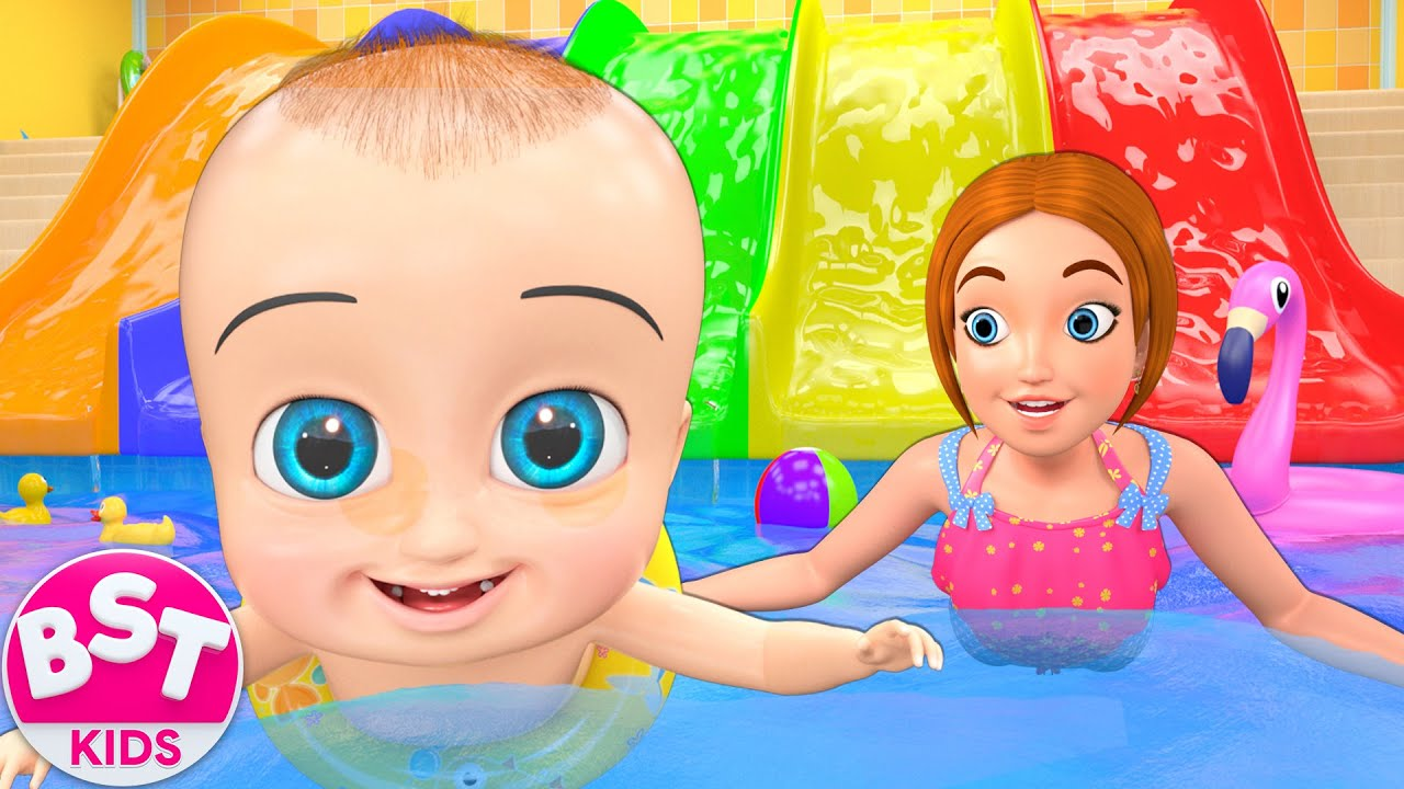 Swimming Pool Song | BST Nursery Rhymes & Songs for Kids
