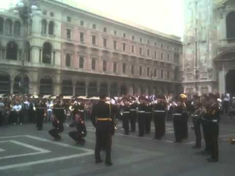 Выступление суворовцев в Милане