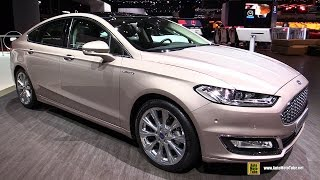 2016 Ford Mondeo Vignale - Exterior and Interior Walkaround - 2016 Geneva Motor Show