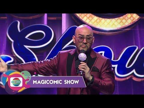 "Deddy Corbuzier ""Lucunya Pandji Tidak Ada Gunanya!!"" – Magicomic Show"