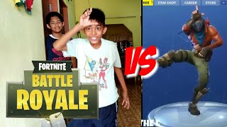 Fortnite dance challenge in real life|ft.waiz