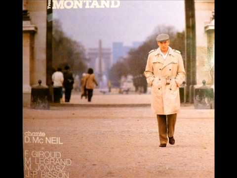 Yves Montand - LETTRE ANONYME A MONSIEUR LE CONSERVATEUR DU MUSEE DU LOUVRE