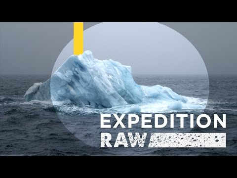 Close Call: Flipping Iceberg Nearly Crushes Explorers | Expedition Raw