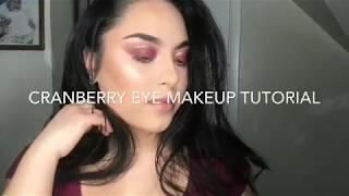 Cranberry Makeup Tutorial   Elizabeth Matos