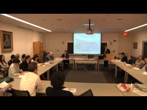 Origins of Japan's Electric Power and the Fukushima Disaster, March 20, 2012