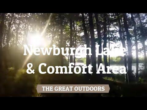 Newburgh Lake, Livonia, MI.  Newburgh Lake Comfort Area.