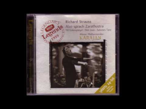 Richard Strauss – Also sprach Zarathustra, Till Eulenapiegel - Karajan, Full CD