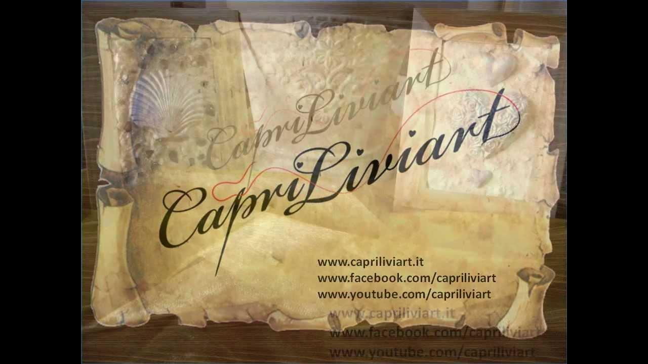Capriliviart cornici di legno grezzo decorate youtube