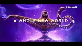 a whole new world - mena massoud,naomi scott ( Lyrics )