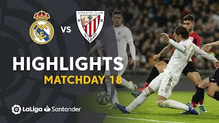 Highlights Real Madrid vs Athletic Club (0-0)