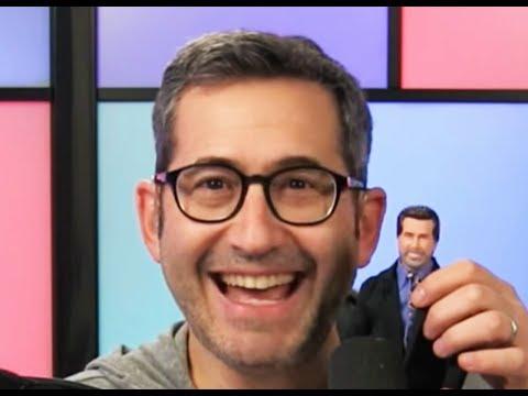 Sam Seder LOVES His Dennis Miller Doll