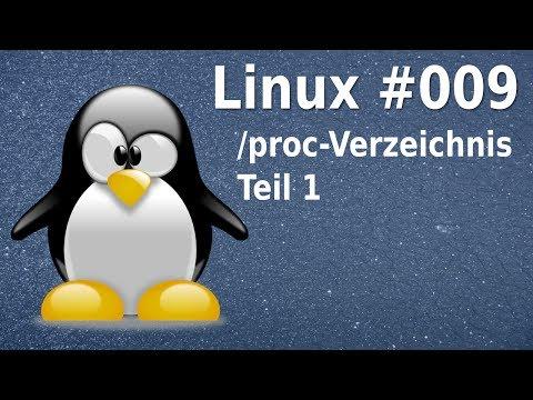 Linux - das /proc-Dateisystem