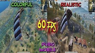 PUBG Mobile High Graphics Realistic Vs Colorful