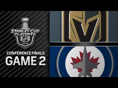 Vegas Golden Knights vs Winnipeg Jets – May. 14, 2018 | Game 2 | Stanley Cup 2018. Обзор