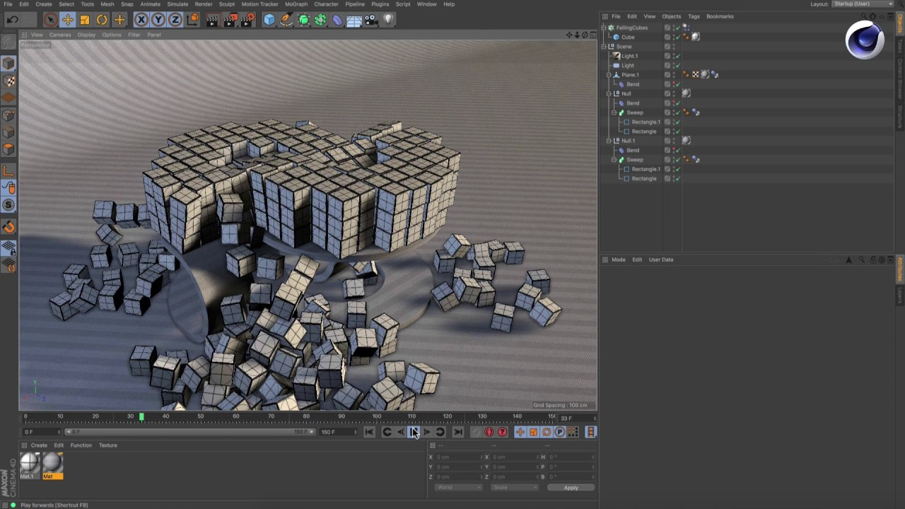Different Ways to Cache MoGraph Animation in Cinema 4d - CGMeetup