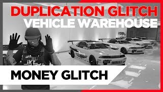 GTA 5 CAR DUPLICATION GLITCH *PATCHED* - SUPER QUICK AND EASY. SPECIAL VEHICLE WAREHOUSE