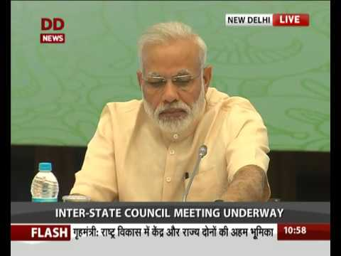 PM inaugurates the 11th meeting of Inter-State Council in New Delhi